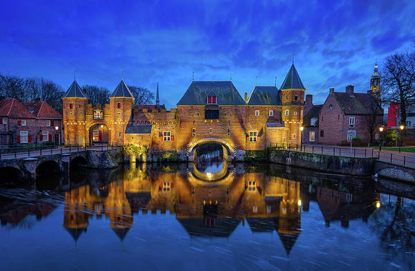 Photograph - The Koppelpoort Amersfoort by Mario Visser
