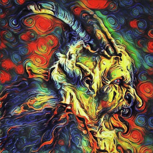 Wall Art - Digital Art - The Krampus by Zapista Zapista