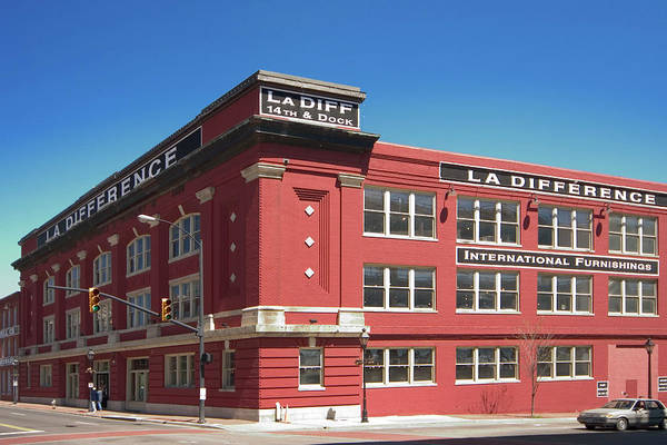 Photograph - The La Difference Building In The by Myloupe/uig
