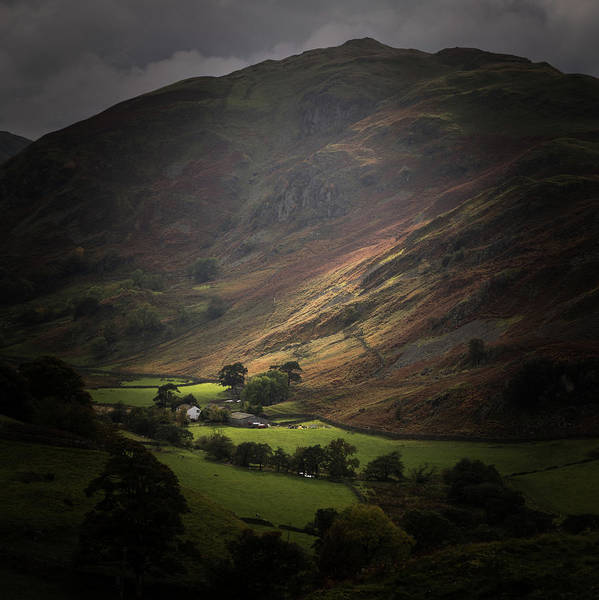 Grasmere Wall Art - Photograph - The Lake District Uk 002 by Chris Smith