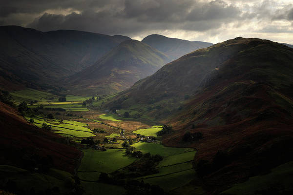 Grasmere Wall Art - Photograph - The Lake District Uk 004 by Chris Smith