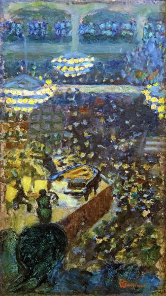 Wall Art - Painting - The Lamoureux Concert - Digital Remastered Edition by Pierre Bonnard