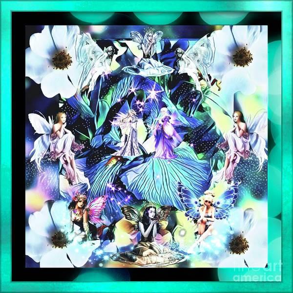 Wall Art - Digital Art - The Land Of Butterfly Fairy Tales by Debra Lynch
