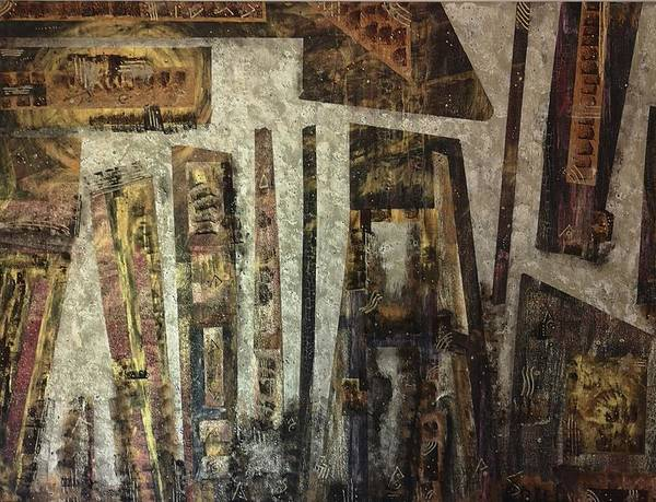 Michael Ferguson Wall Art - Painting - The Last Goodbye   1 Of 3  by Michael Ferguson