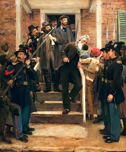 Wall Art - Painting - The Last Moments Of John Brown - Thomas Hovenden by War Is Hell Store