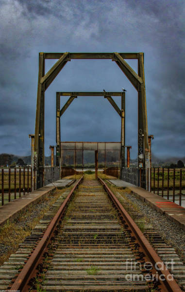 Railroad Tie Wall Art - Photograph - The Last Stop by Mitch Shindelbower