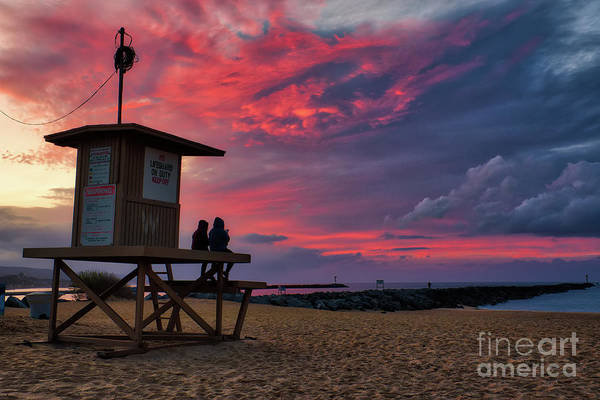 Photograph - The Last Sunrise Of 2018 At The Wedge by Eddie Yerkish
