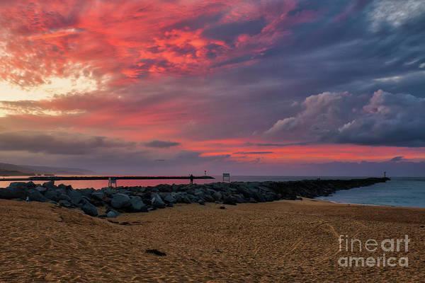 Photograph - The Last Sunrise Of 2018 by Eddie Yerkish