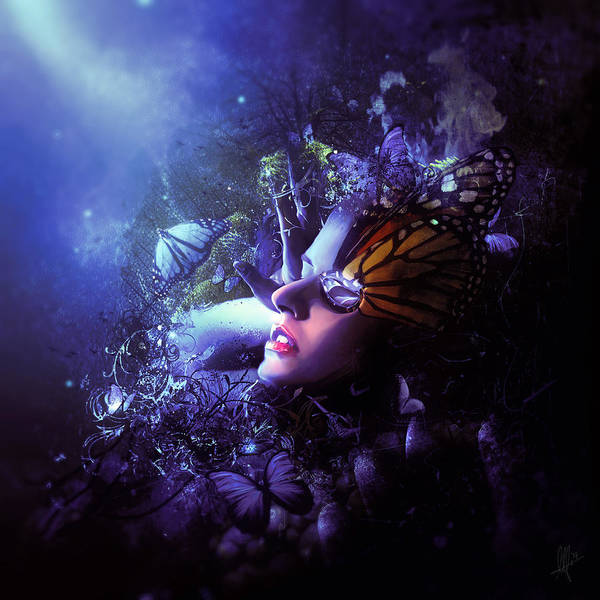 Wall Art - Digital Art - The Last Travel Of The Butterflies by Mario Sanchez Nevado
