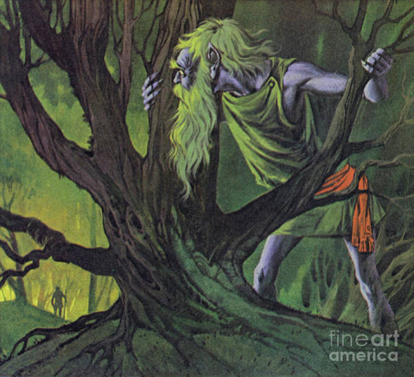 Wall Art - Painting - The Leshy by Angus McBride