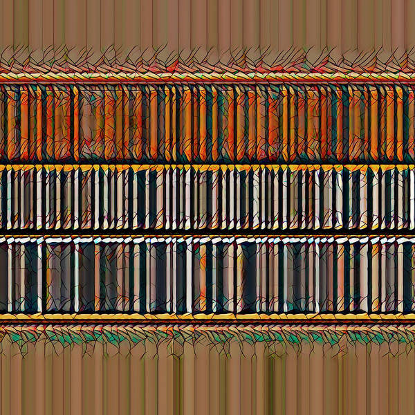 Digital Art - The Library by Robert Stanhope