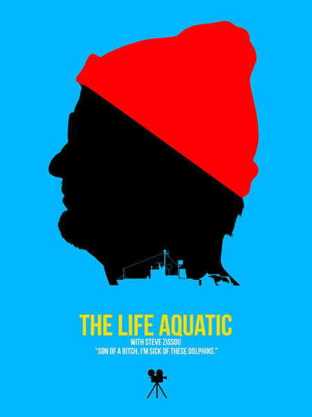 Wall Art - Digital Art - The Life Aquatic by Naxart Studio