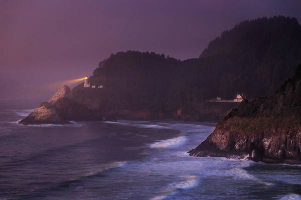 Photograph - The Light From Heceta Head by James Eddy