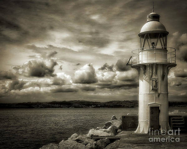 Photograph - The Lighthouse by Edmund Nagele