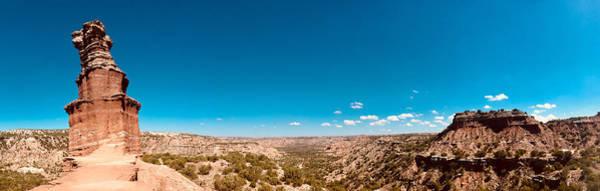 Amarillo Digital Art - The Lighthouse Panorama, Palo Duro Canyon by Matt Richardson