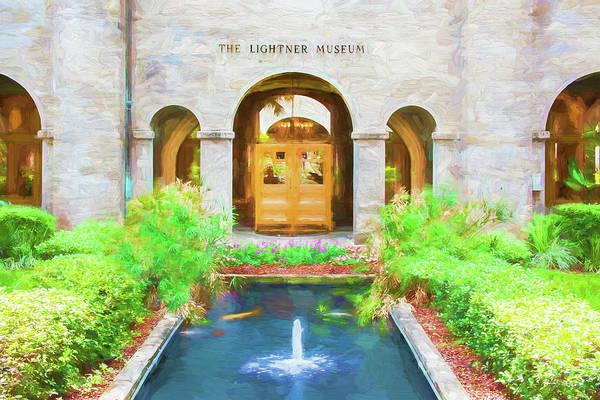 Lightner Museum Photograph - The Lightner Museum St Augustine 003 by Rich Franco