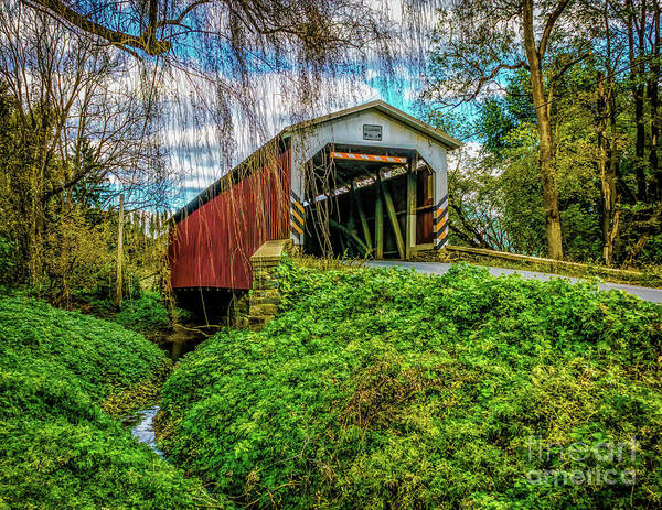 Photograph - The Lime Valley Covered Bridge by Nick Zelinsky