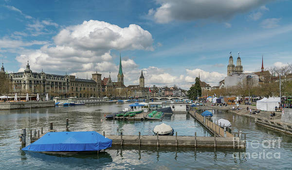Procession Photograph - The Limmat by DiFigiano Photography