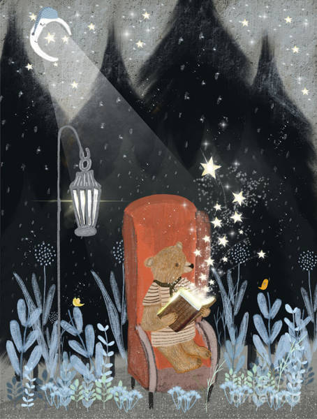 Wall Art - Painting - The Little Book Of Stars by Bri Buckley