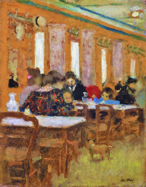 Wall Art - Painting - The Little Restaurant - Digital Remastered Edition by Edouard Vuillard
