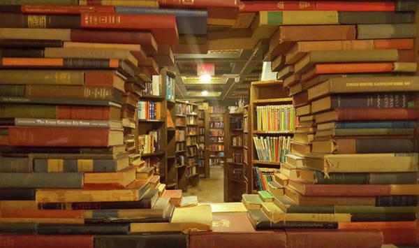 Wall Art - Photograph - The Little Window Of Books by Art Spectrum