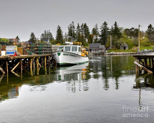 Wall Art - Photograph - The Lobster Boat by Steve Brown