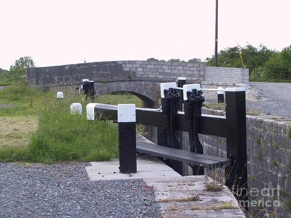 Painting - The Locks At Cloondara, Co. Longford by Val Byrne