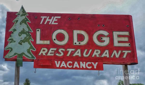Photograph - The Lodge Restaurant by Tony Baca