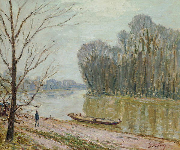 Wall Art - Painting - The Loire by Alfred Sisley