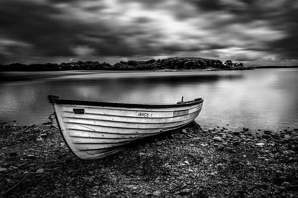 Photograph - The Lone Boat by Alan Campbell