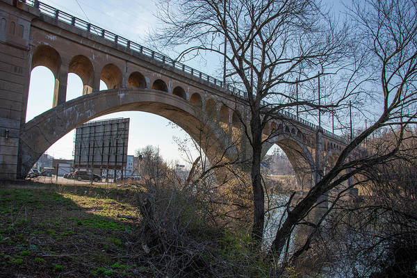 Wall Art - Photograph - The Long Bridge - Manayunk Philadelphia by Bill Cannon