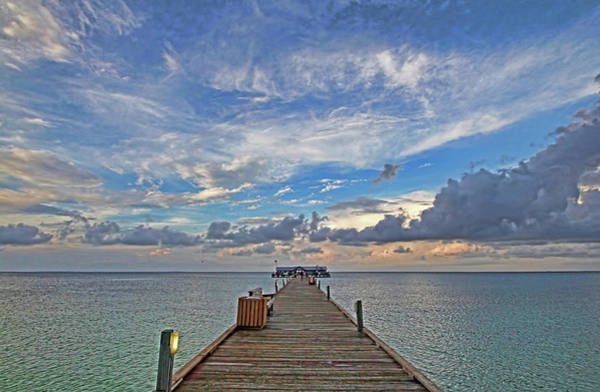 Maria Island Wall Art - Photograph - The Long Walk by HH Photography of Florida