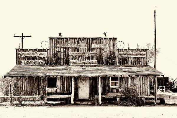 Photograph - The Longhorn Store by Jim Thompson