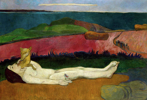 Wall Art - Painting - The Loss Of Virginity, 1891 by Paul Gauguin