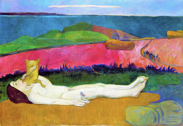 Wall Art - Painting - The Loss Of Virginity - Digital Remastered Edition by Paul Gauguin