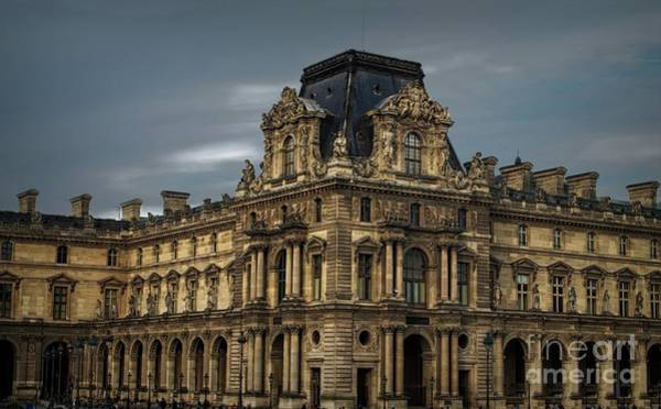 Photograph - The Louvre - Paris by Luther Fine Art