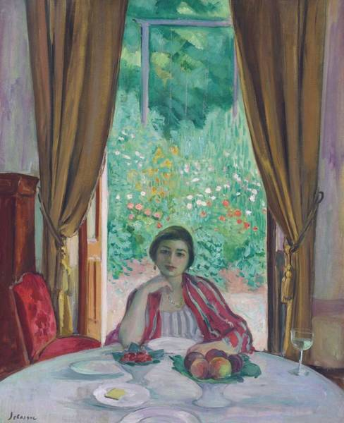 Wall Art - Painting - The Lunch, Aix-les-bains, 1920 by Henri Lebasque