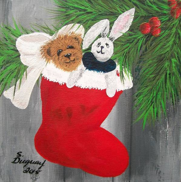 Painting - The Magic Of Christmas by Sharon Duguay