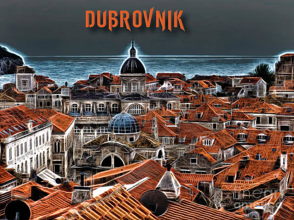 Photograph - The Magic Of Dubrovnik by Brian Tarr