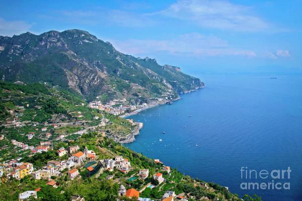 Photograph - The Magic Of The Amalfi Coast - Italy by Mary Machare