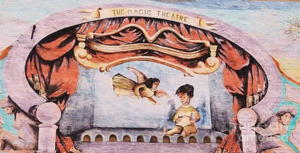 Wall Art - Photograph - The Magic Theatre Mural, Baltimore by Marcus Dagan