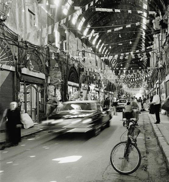 Damascus Photograph - The Main Passage In The Al-hamidiyah by Cultura Rm Exclusive/philip Lee Harvey