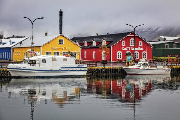 Photograph - The Marina At Siglufjordur Iceland by Debra and Dave Vanderlaan
