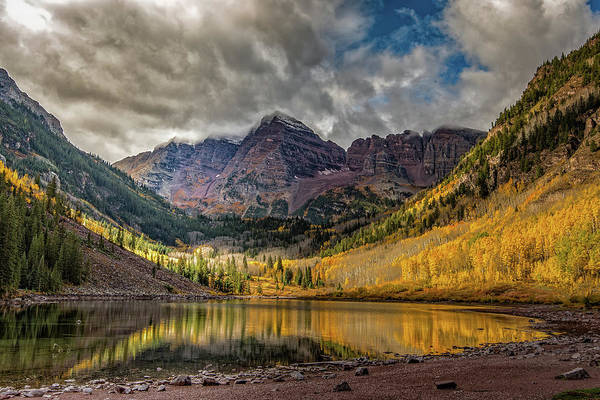 Photograph - The Maroon Bells - Aspen, Colorado by William Christiansen