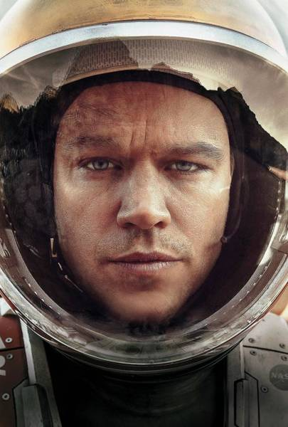 Wall Art - Digital Art - The Martian by Geek N Rock