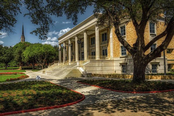 Wall Art - Photograph - The Mary Couts Burnett Library - T C U by Mountain Dreams