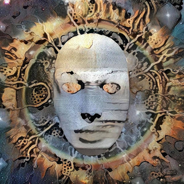 Wall Art - Digital Art - The Mask Of Mystery by Bruce Rolff