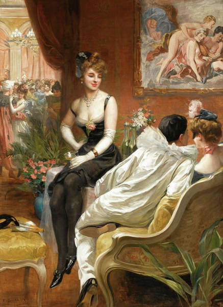 Wall Art - Painting - The Masked Ball by Frederic Dufaux