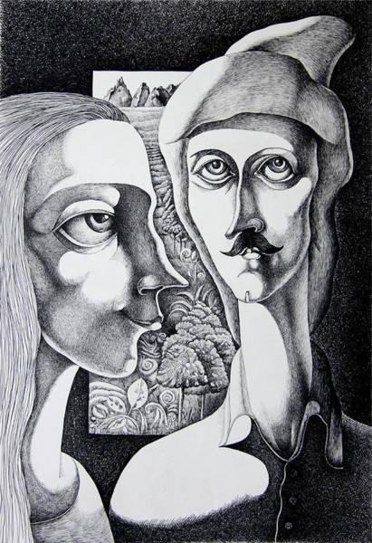Land Mark Drawing - The Master And Margarita by Artur Durgaryan