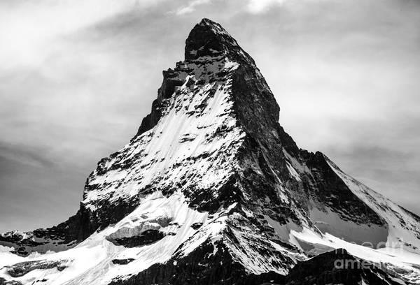 Digital Art - The Matterhorn  by Michael Graham